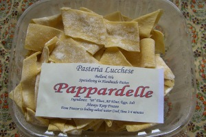 Pappardelle from Seattle\'s Pasteria Lucchese